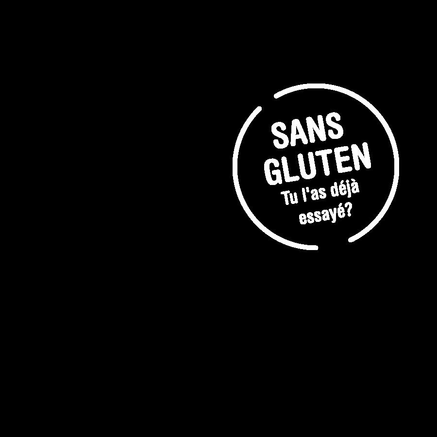 Sans Gluten. Tu l'as déjà essayé?
